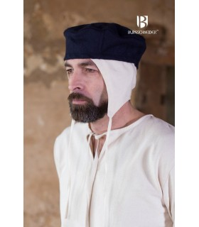 Hat medieval Hugo, blue