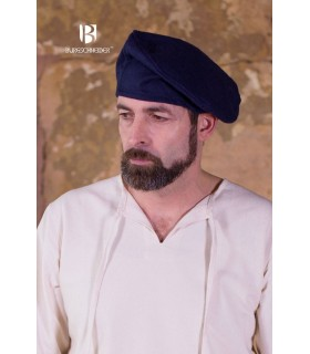 Hat renaissance Harald, blue