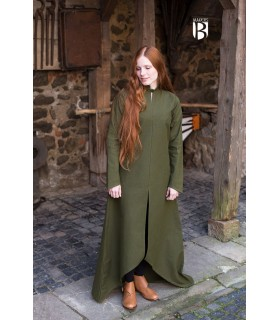 Tunic medieval Ranwen, olive green