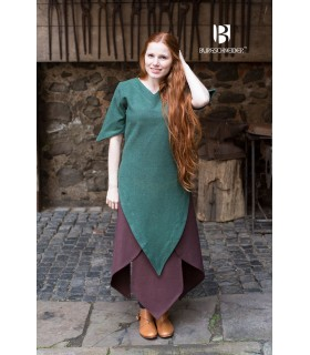 Tunic medieval Laylin, green