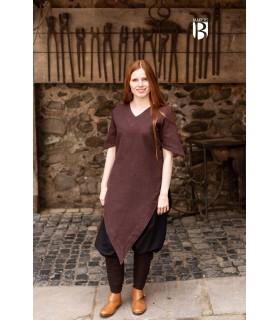 Tunic medieval Laylin, brown