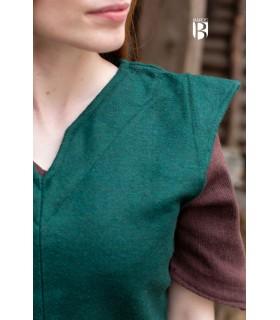 Tunic woman Meril, wool green