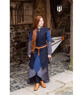 Tunic woman Meril, wool blue