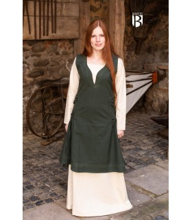 Dress medieval Lannion, green