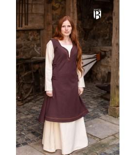 Dress medieval Lannion, brown