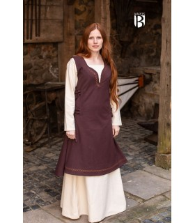 Dress medieval Lannion, brown