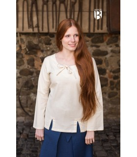 Blouse medieval Lysia, natural