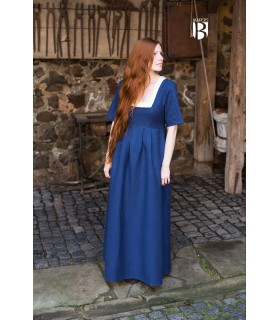 Dress medieval Frideswinde, blue