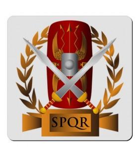 Flexible magnet Square Roman Legion SPQR (7,4 x 7,4 cm.)
