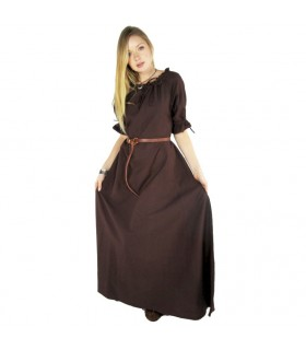 Dress medieval Karen, brown