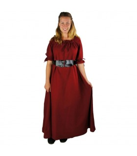 Dress medieval Karen, red