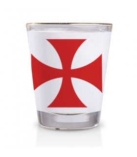 Shot glass of the Knights Templar