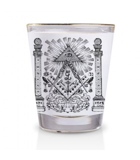 Shot glass of the Masons