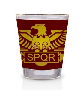 Shot glass Roman Legion SPQR