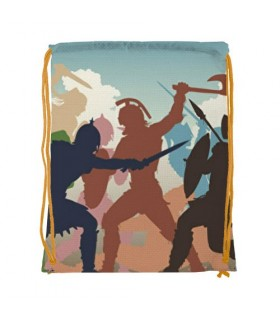 Backpack string Fight Gladiators (34x42 cm.)
