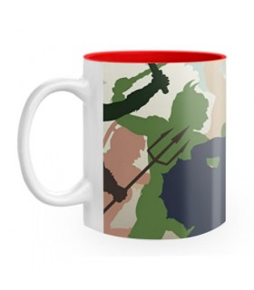 Ceramic mug Fight Roman Gladiators