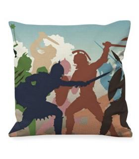 Cushion Fight Roman Gladiators