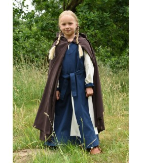 Layer medieval for kids, brown