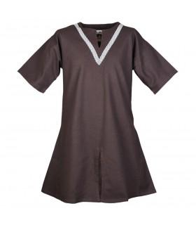 Tunic medieval Ailrik brown