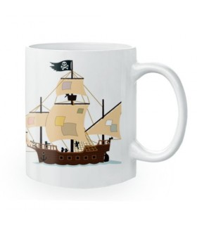 Ceramic mug Pirates