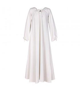 Dress medieval Ana, white