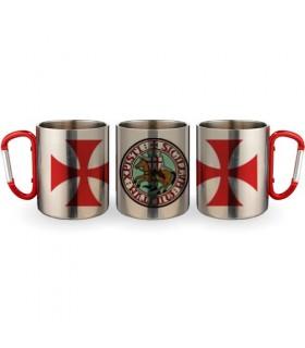 Cup Steel Carabiner Knights Templar