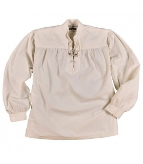 Shirt white pirate Ludwig