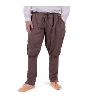 Pants vikings Olaf, brown
