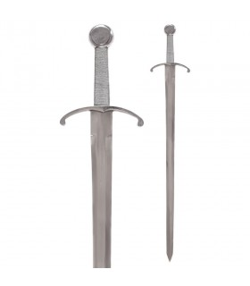 Medieval sword a hand