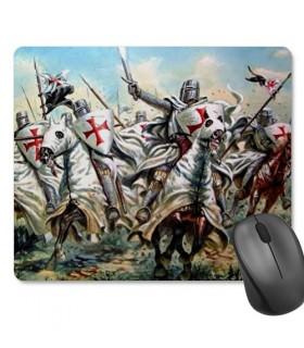 Mouse mat Mouse Rectangular Templar Knights (23,5x19,5 cm)
