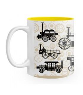Ceramic mug Steam Punk