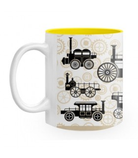 Ceramic mug Steam Punk