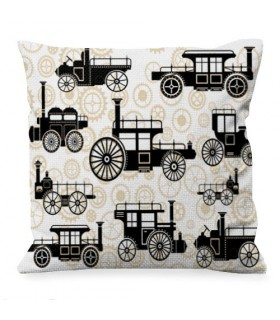 Cushion Design Steam Punk