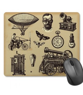 Mouse mat Mouse Rectangular SteamPunk (23,5x19,5 cm)