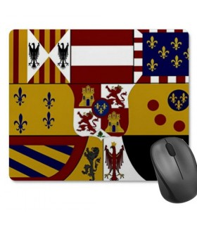 Mouse mat Mouse Rectangular Shield Medieval (23,5x19,5 cm)