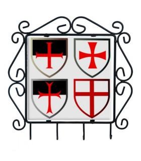 Hanger keys with Templars Crosses