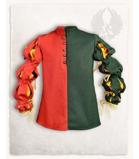 Joerg Mercenary Vest, red-green