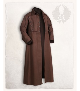 Coat medieval Kandor, brown