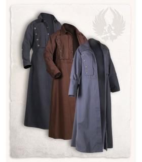 Coat medieval Kandor, brown