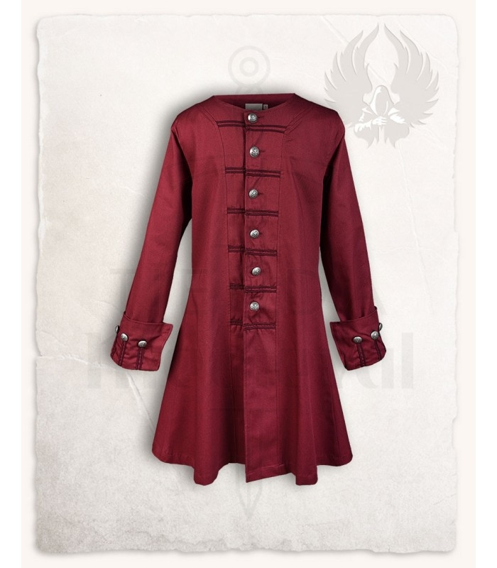 New Frock Coat Pirate Enigo Bordeaux