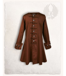 Frock coat pirate Enigo, brown