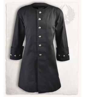 Frock coat pirate Enigo, black