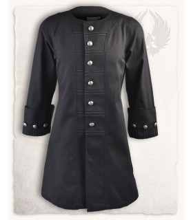 Frock coat pirate Enigo, black