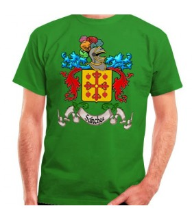 T-Shirt Custom Heraldic Shield 1 Last Name