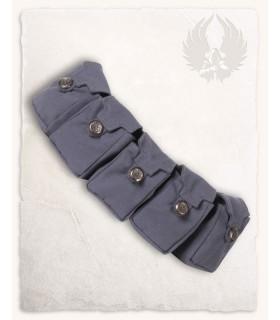 Belt medieval with 5 pockets