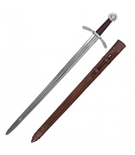 Sword of the Crusaders, with sheath