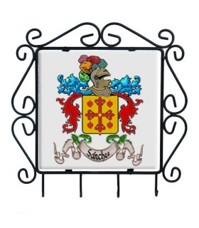 Hanger keys Coat Of arms 1 Last name