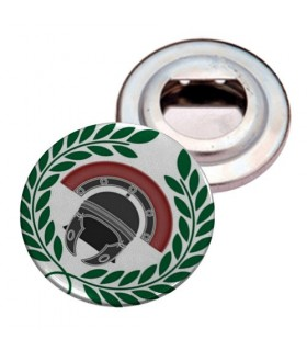 Opens-bottles Plate with Magnet Roman Centurion