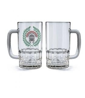 Beer mug Glass Centurion Roman