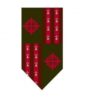 Banner Quarterly Cross Order of Alcántara
